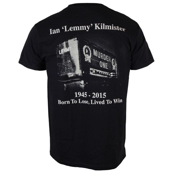 tričko pánské Motörhead - Lemmy Lived To Win - ROCK OFF