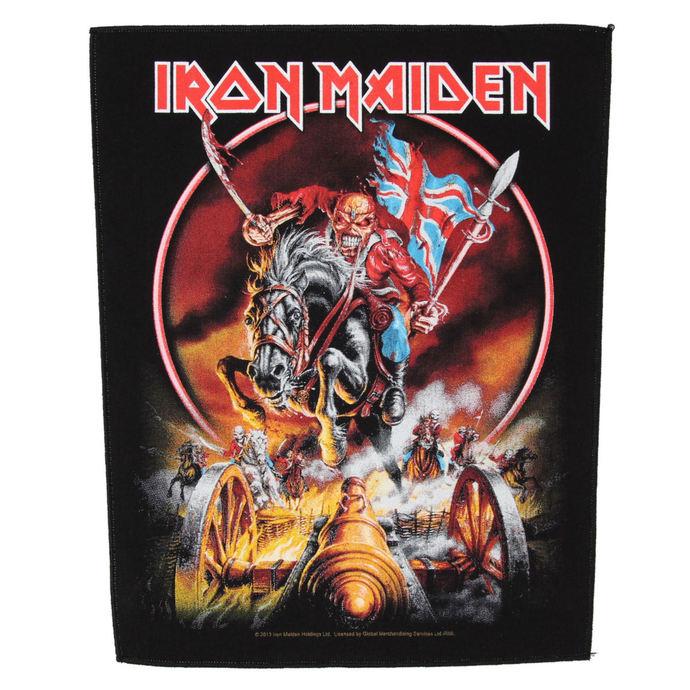 nášivka velká Iron Maiden - Maiden England - RAZAMATAZ