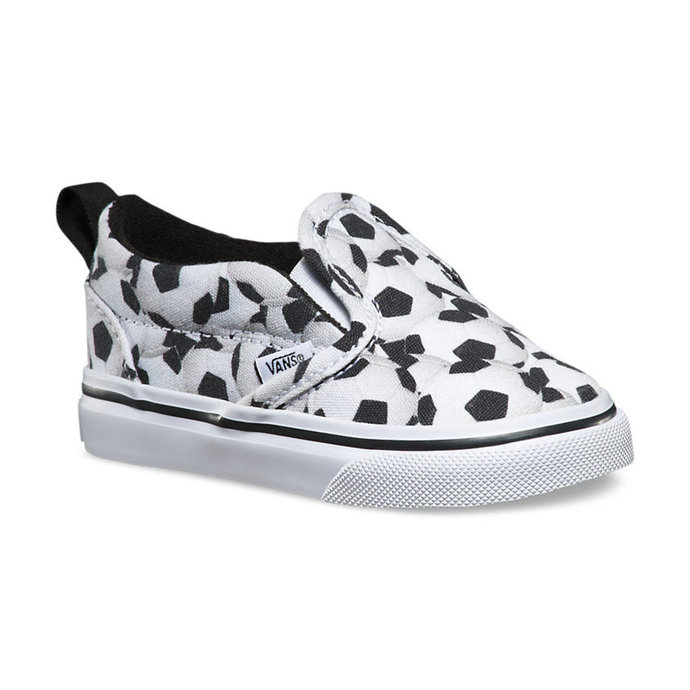 boty dětské VANS - Slip-On (Sports) - Soccer - Black/White