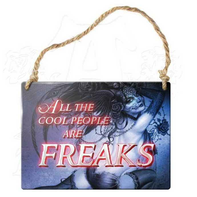cedulka ALCHEMY GOTHIC - All The Cool People Are Freaks