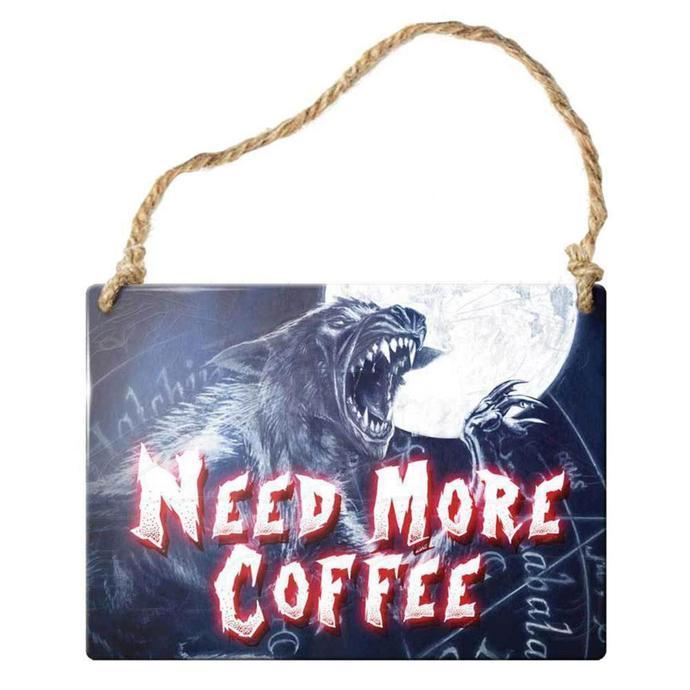 cedulka ALCHEMY GOTHIC - Need More Coffee