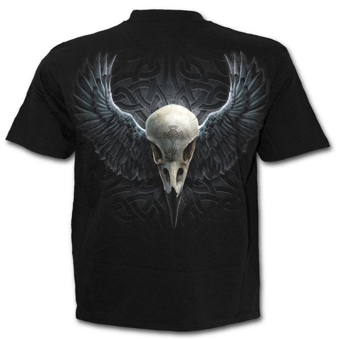 tričko pánské SPIRAL - Raven Cage