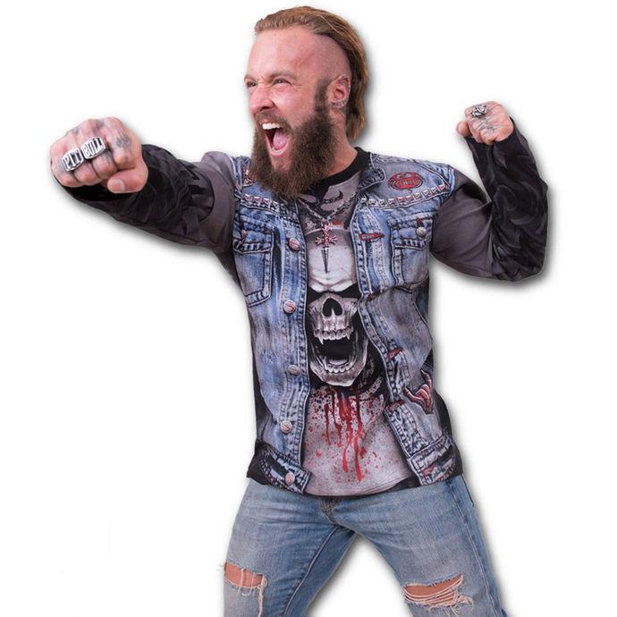 tričko pánské s dlouhým rukávem SPIRAL - Thrash Metal
