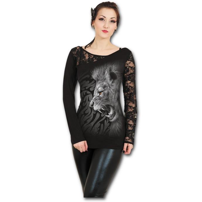 tričko dámské s dlouhým rukávem SPIRAL - Tribal Lion