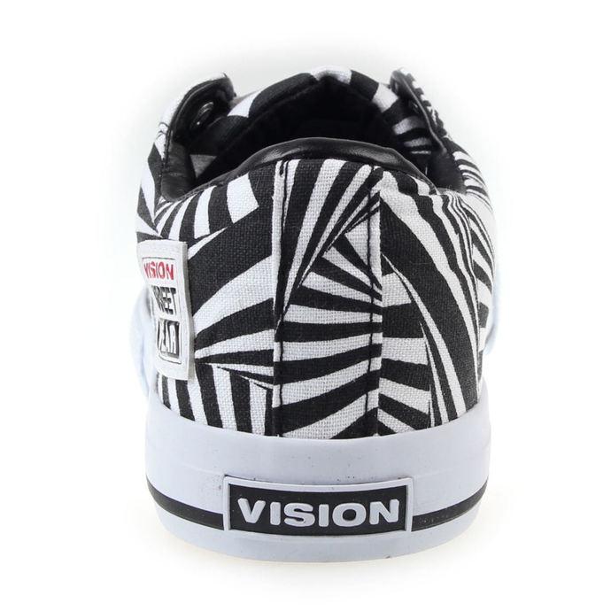 boty pánské VISION - Canvas-Lo - Black/White/Hypno