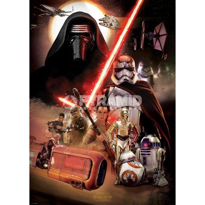 plakát Star Wars - Episode VII (Montage) - PYRAMID POSTERS
