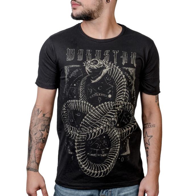 tričko pánské WORNSTAR - Ouroboros - Black