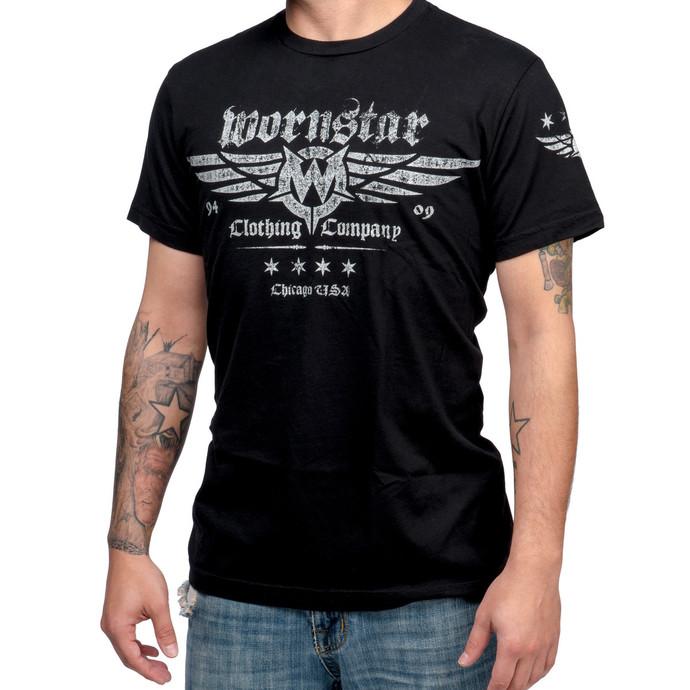 tričko pánské WORNSTAR - Machine Shop - Black