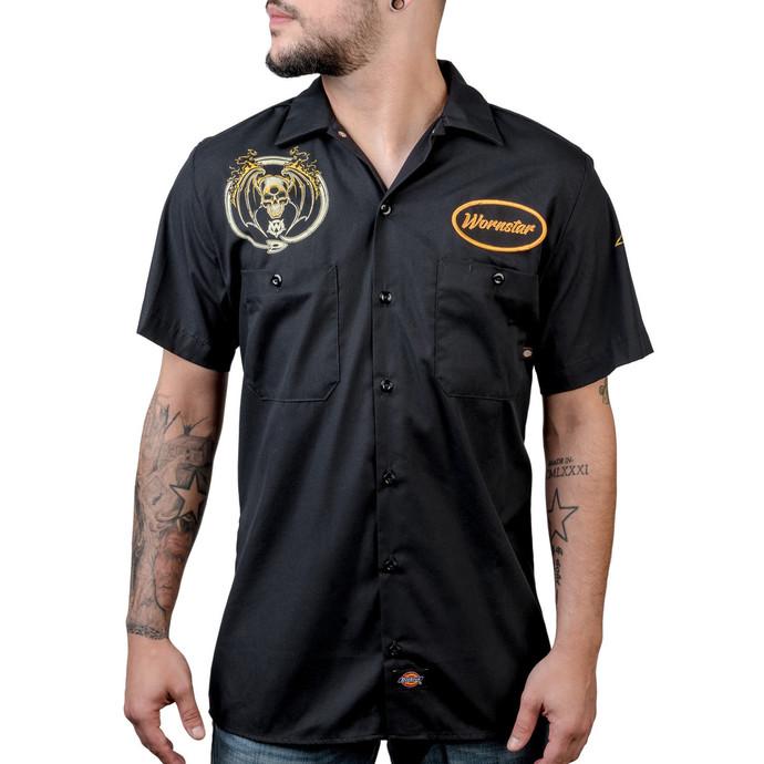 košile pánská WORNSTAR - Rock N Roll Forever - Black