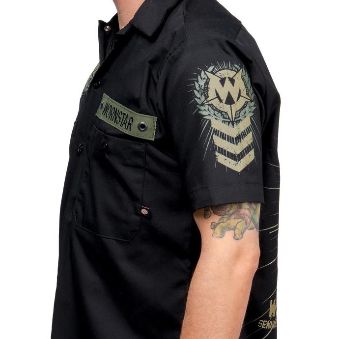 košile pánská WORNSTAR - SGT - Black