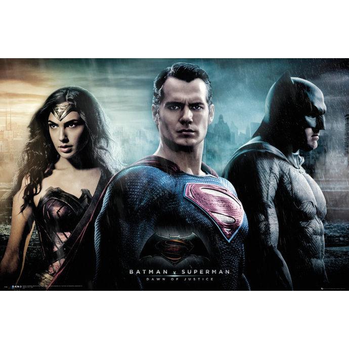 plakát Batman Vs Superman - City - GB posters