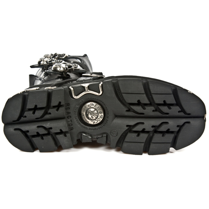 boty NEW ROCK - REACTOR NEGRO E14 ORIF Y