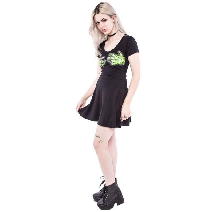 šaty dámské IRON FIST - Second Base - Black