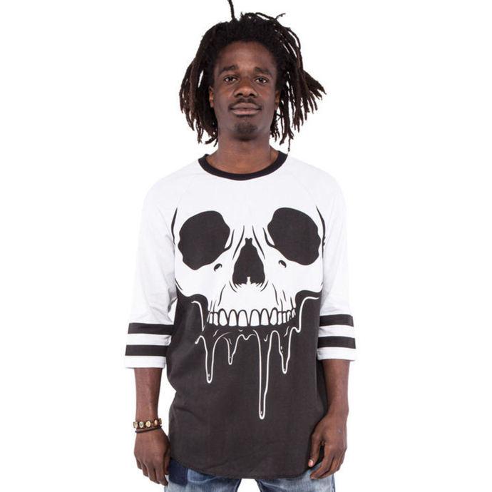 tričko pánské s 3/4 rukávem IRON FIST - Face Melter - Graphic - Black/White