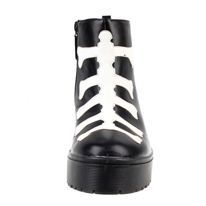 boty dámské IRON FIST - Wishbone Heavy Sole - Black