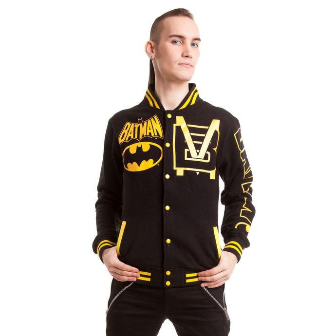 bunda pánská POIZEN INDUSTRIES - Batmanteam Varcity - Black
