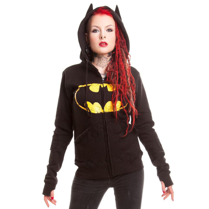 mikina dámská BATMAN - BM Revenge - Batman - Black