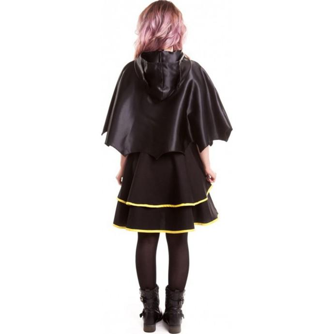šaty dámské BATMAN - Batman Cape - Black