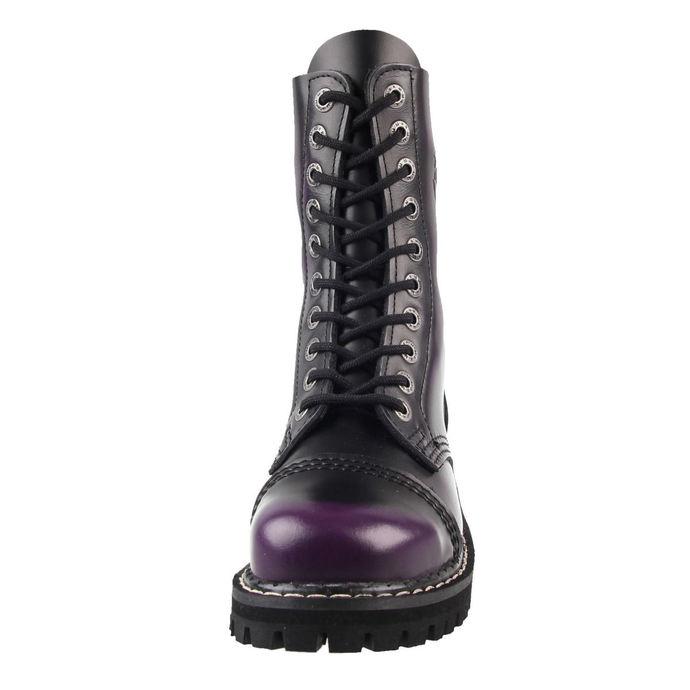 boty KMM 10dírkové - Deep Purple