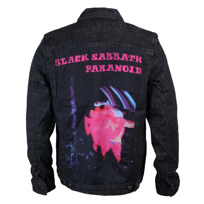 bunda pánská Black Sabbath - Paranoid - Denim - BRAVADO