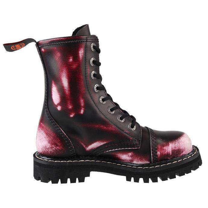 boty KMM 8 dírkové - Vampire Red