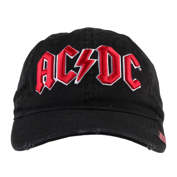 kšiltovka AC/DC - Black - F.B.I.