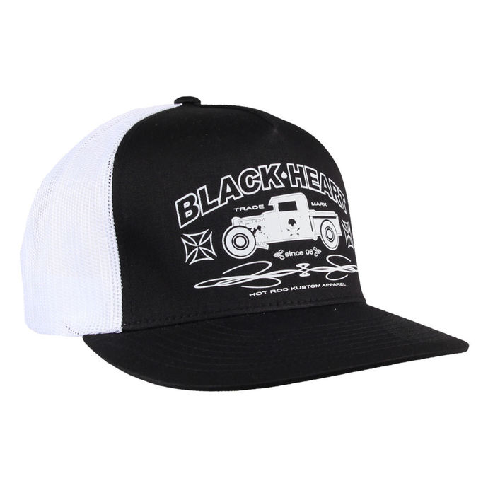 kšiltovka BLACK HEART - Pick Up - BLK/WHT