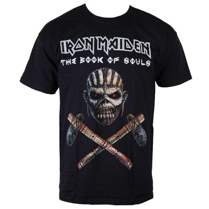tričko pánské Iron Maiden - Axe - BLK - ROCK OFF