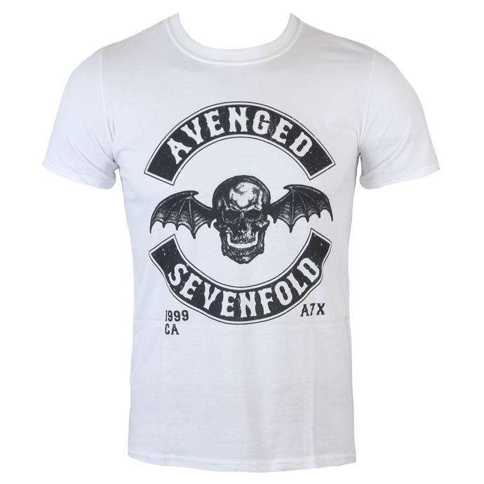 tričko pánské Avenged Sevenfold - Moto Seal - Wht - ROCK OFF