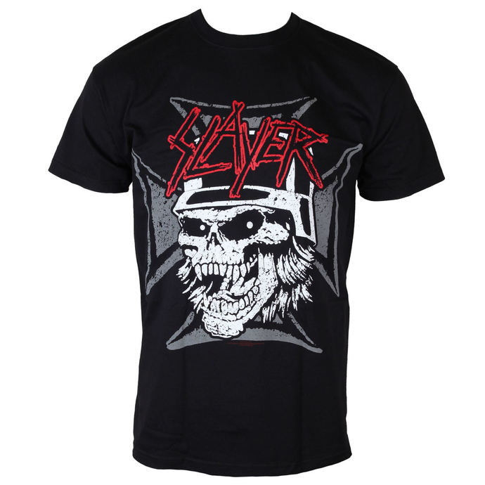tričko pánské Slayer - Graphic Skull - Black - ROCK OFF