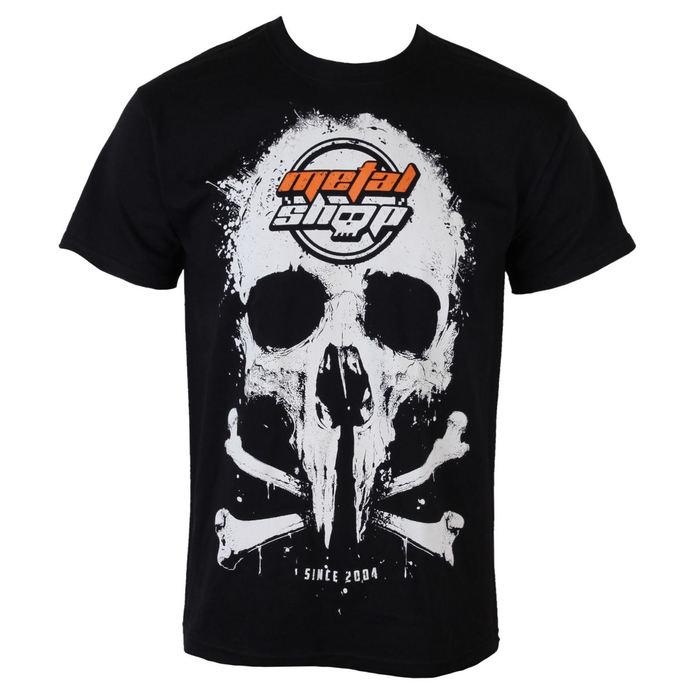 tričko pánské Metalshop - Black