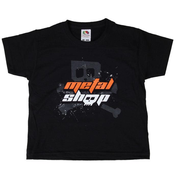 tričko dětské Metalshop - Black