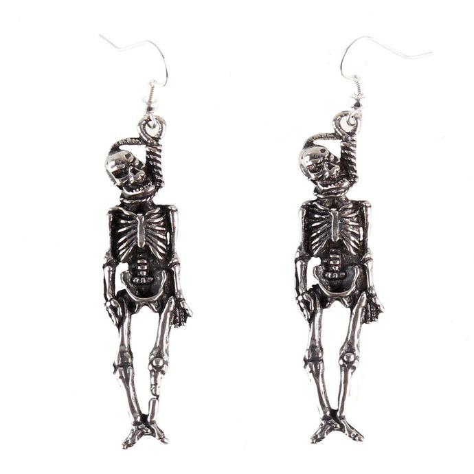 náušnice Skull