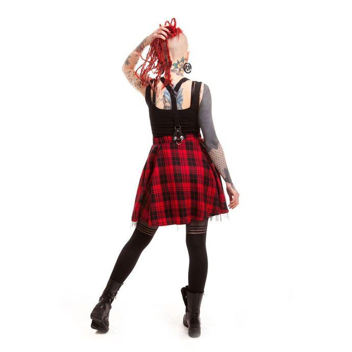 sukně dámská HEARTLESS - Lucille - Red