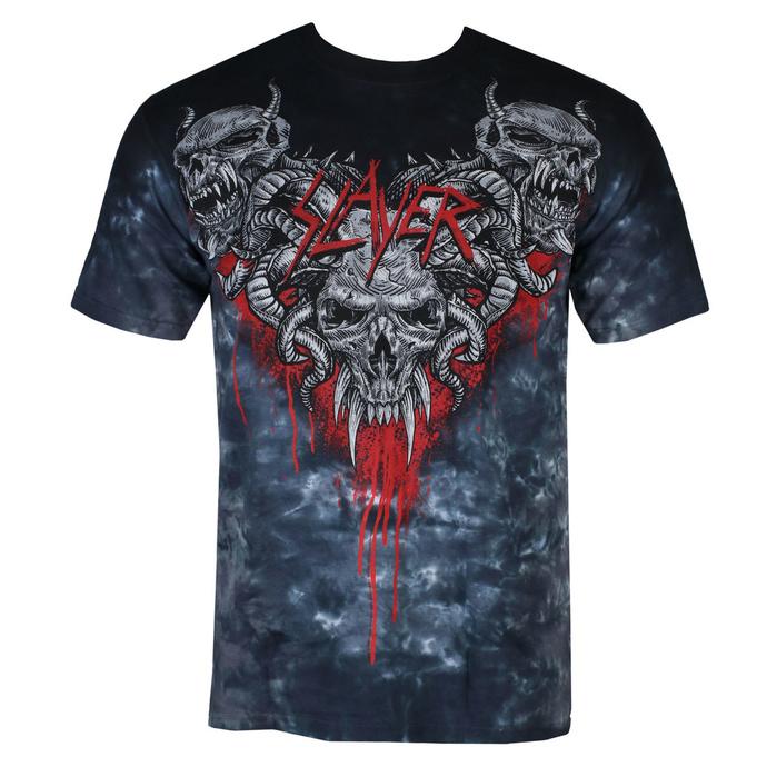 tričko pánské Slayer - Hell Awaits - LIQUID BLUE