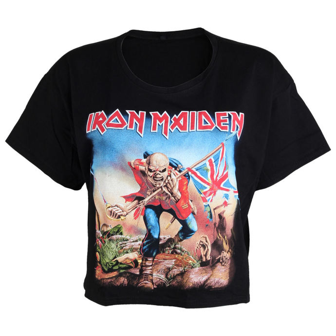 tričko dámské (top) Iron Maiden - Trooper - ROCK OFF