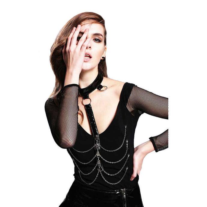 tričko dámské s dlouhým rukávem DEVIL FASHION - Gothic Zetta