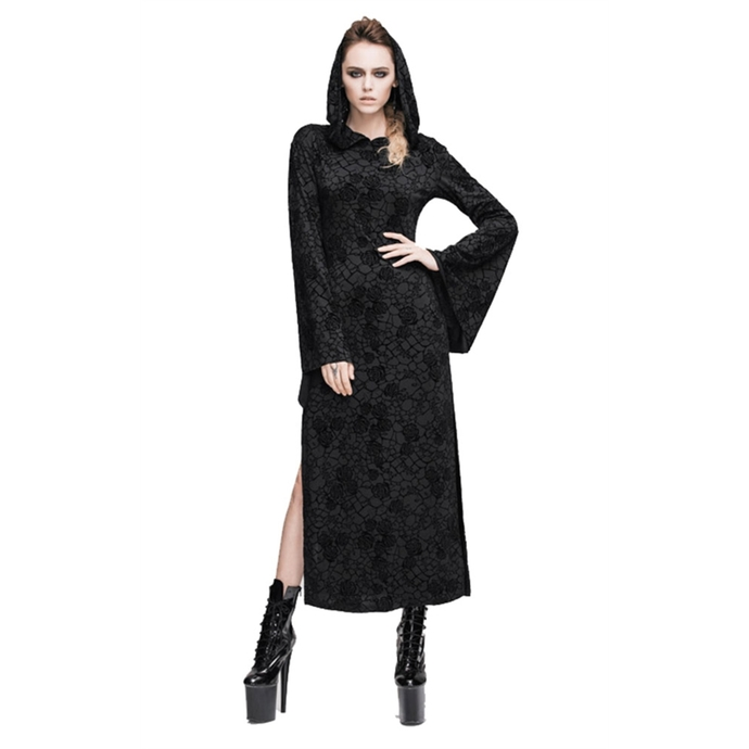 šaty dámské DEVIL FASHION - Gothic Salem Rose