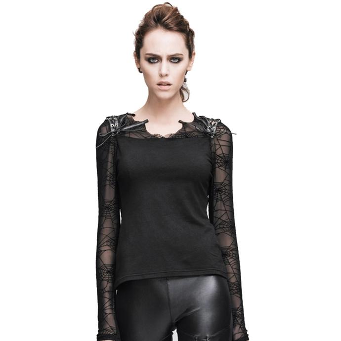 tričko dámské s dlouhým rukávem DEVIL FASHION - Gothic Dusk