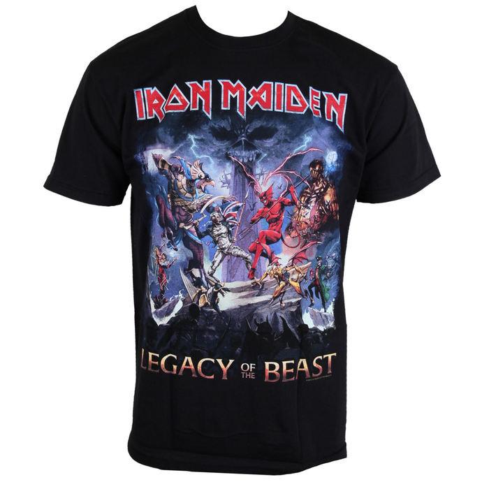 tričko pánské Iron Maiden - Legacy Of The Beast - ROCK OFF