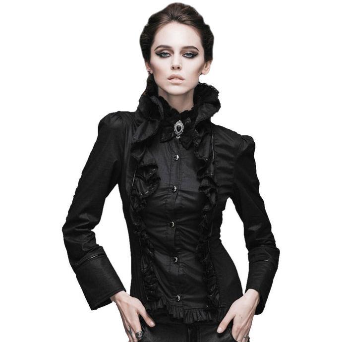 košile dámská Devil Fashion - Gothic Ebony