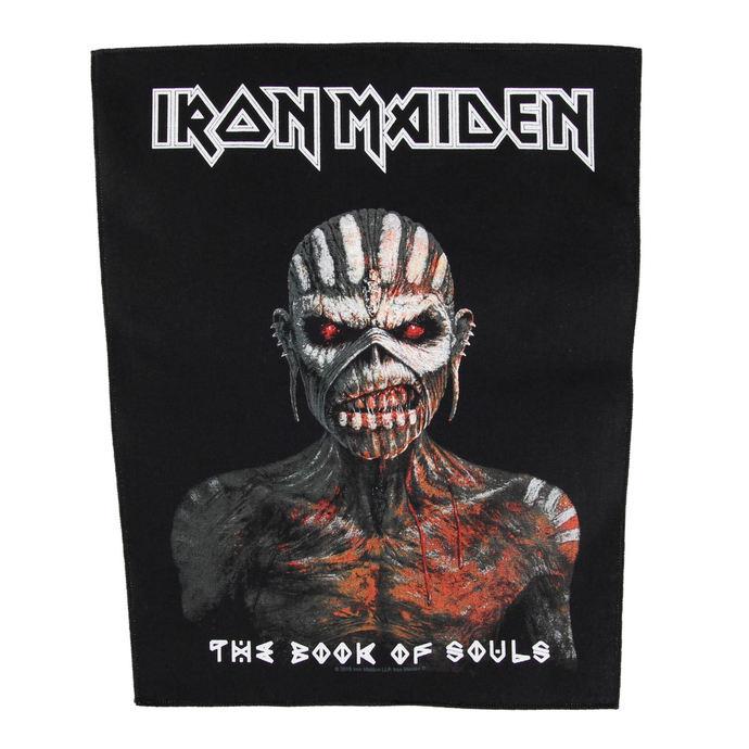 nášivka IRON MAIDEN - THE BOOK OF SOULS - RAZAMATAZ