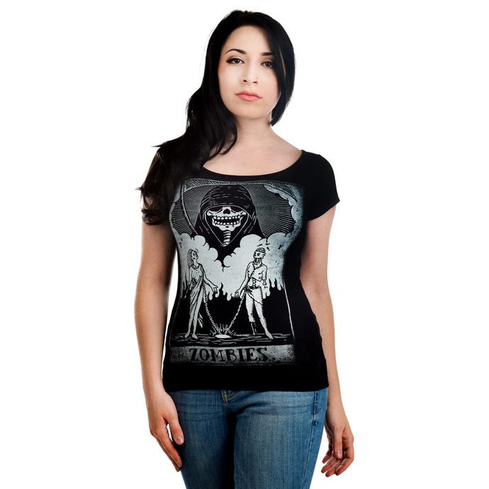 tričko dámské TOO FAST - Lola - Zombie Tarot
