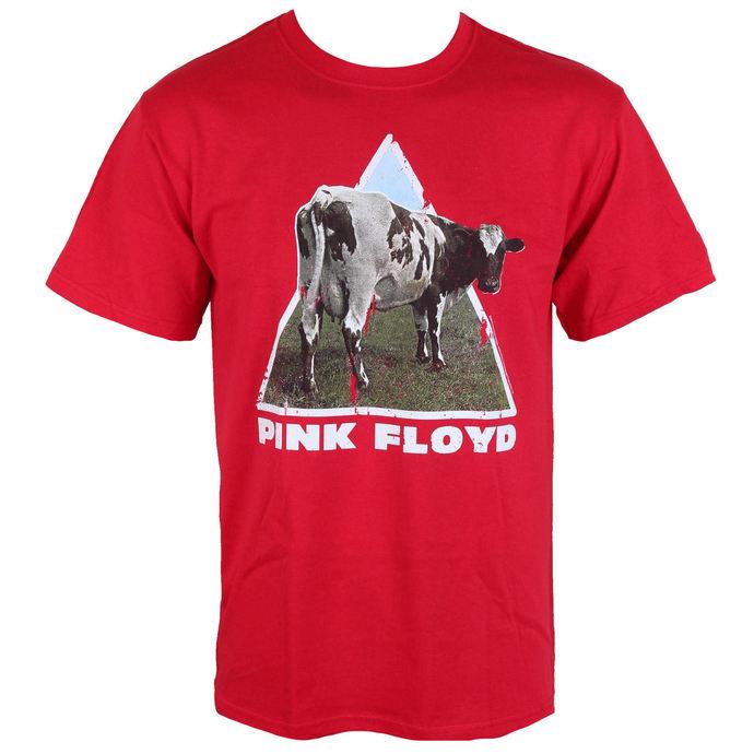 tričko pánské Pink Floyd - Atom Heart - Red - LOW FREQUENCY