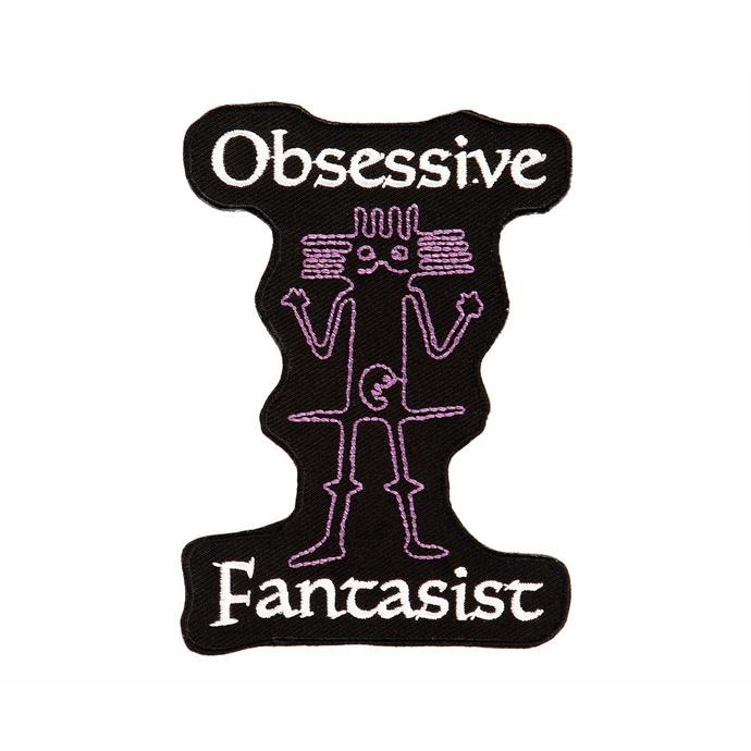 nášivka (nažehlovačka) DISTURBIA - Fantasist