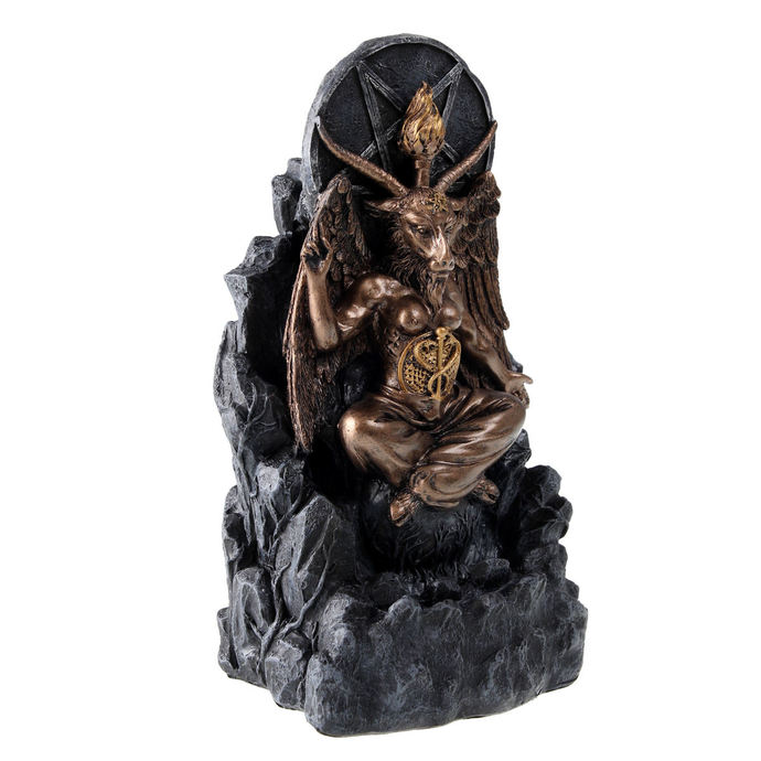 dekorace Baphomet Backflow Incense - NENOW