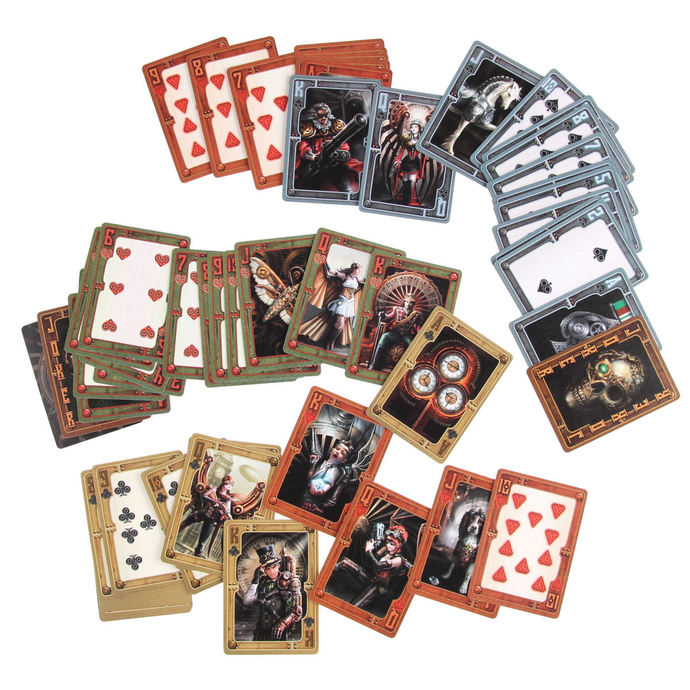 hrací karty Anne Stokes Steampunk - NENOW