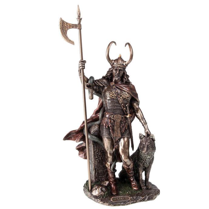 figurka (dekorace) Loki-Norse Trickster God - NENOW