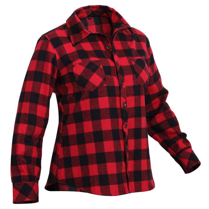 košile dámská ROTHCO - PLAID - RED