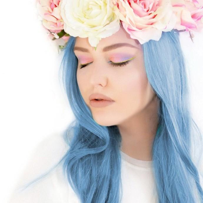 barva na vlasy MANIC PANIC - Classic - Blue Angel